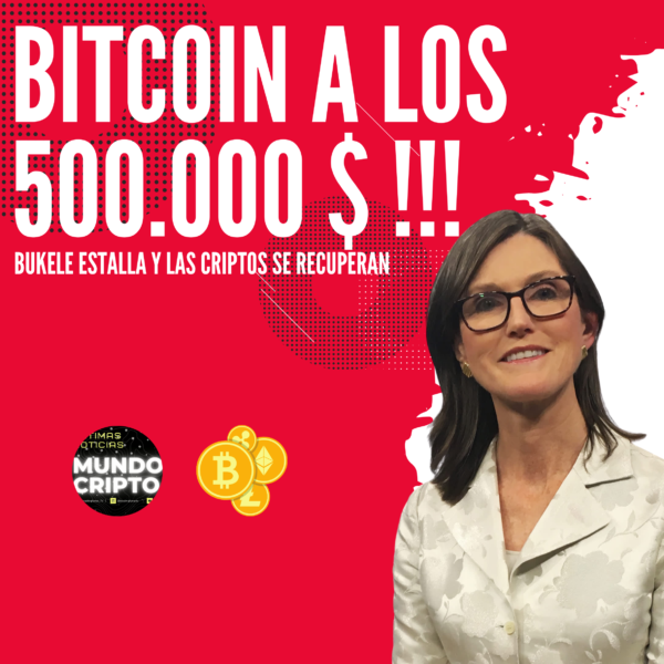 Cathie Wood Bitcoin a los 500.000